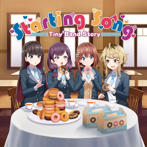Hakumai Koukou Keionbu - Starting Song (Single) Tiny² Band Story OP